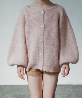 Cardigan Sweater - Pink ★ONLY L★