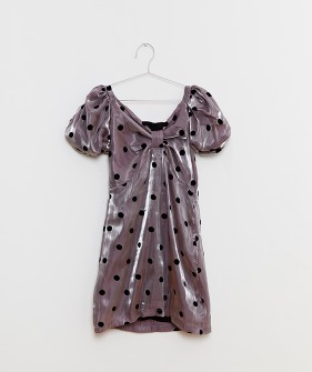 Party Dots Dress - Pink