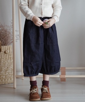 Casual Pants - Navy
