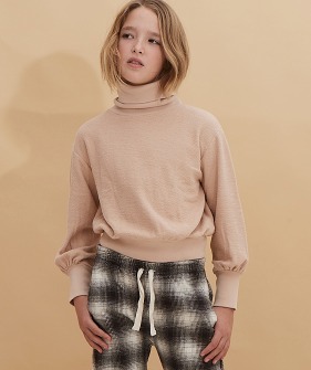 Terry Colsweater #20207 - Natural