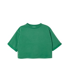 MS064 Boxy Sweat - Green