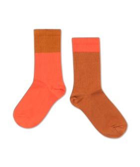 Repose AMS Socks - Vibrant Red Autumn