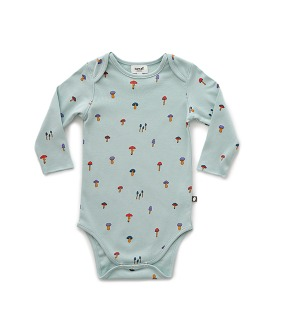Baby Onesie - Sky Grey ★ONLY 12-18M★