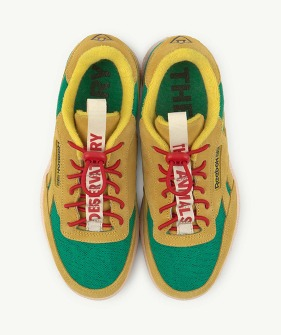Reebok Club C Revenge x TAO - Yellow (Kids) #FX1118