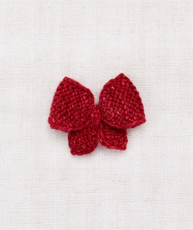 Puff Bow - Berry