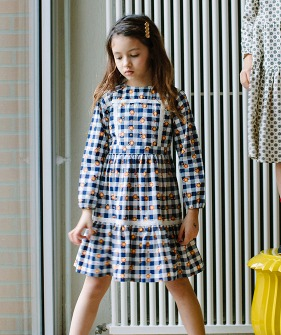 Anoushka Dress - Vichy