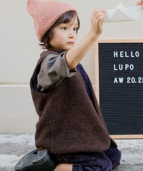Lupo'S Vest - Brown