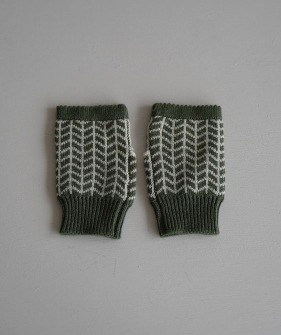 Wool Gloves - Green