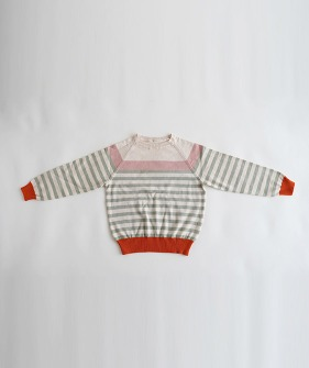 Striped Sweaters  - Pink