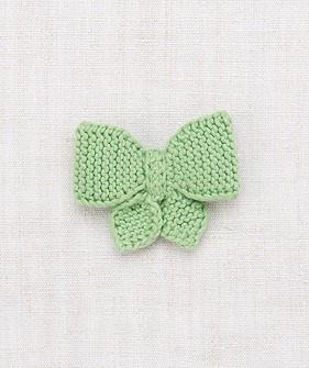 Medium Puff Bow - Peapod