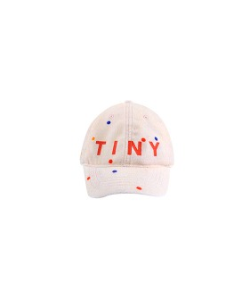 ◆2DROP◆ Tiny Ice Cream Dots Cap - Pastel Pink