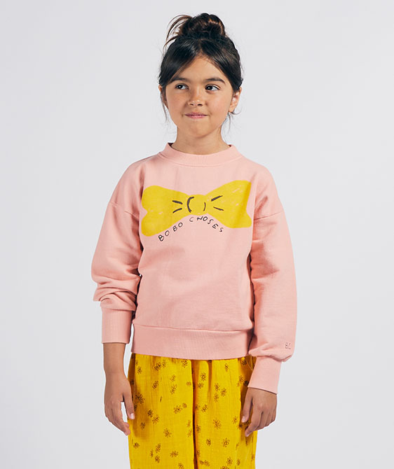 Bow Sweatshirt  (Kid) #01036