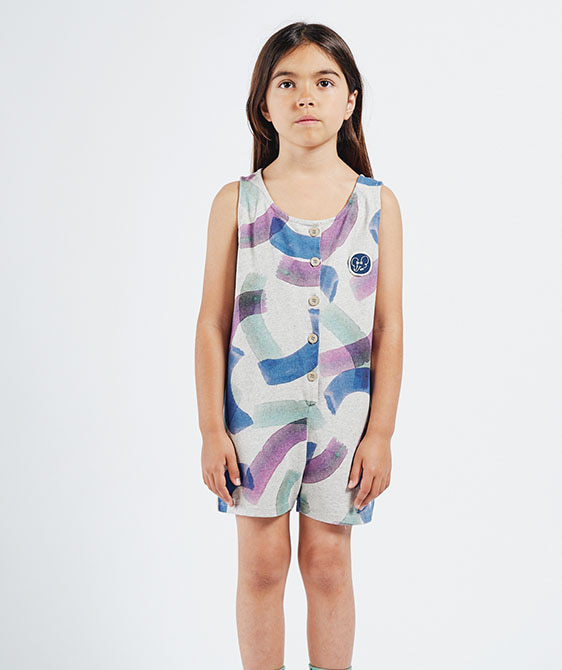 All Over Painted Playsuit (Kid) #01099 ★ONLY 2-3Y★
