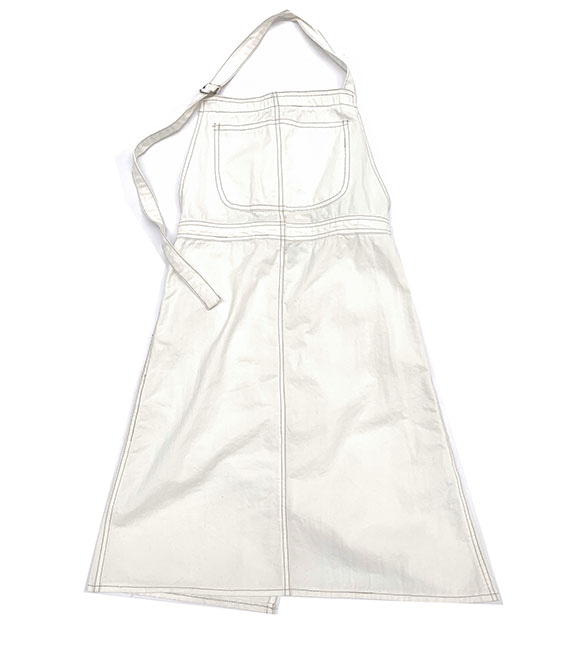 [SCRATCH] Apron Dress (404) - Offwhite Canvas ★ONLY 4Y★