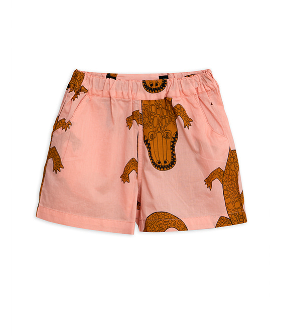 Crocco Woven Shorts - Pink