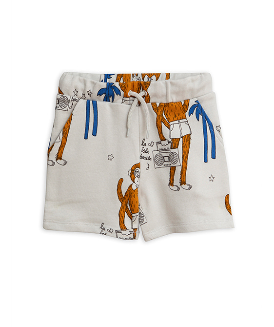 Cool Monkey Aop Shorts - Grey