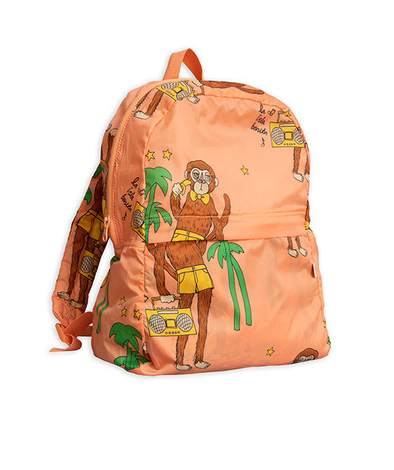 Cool Monkey Backpack - Pink