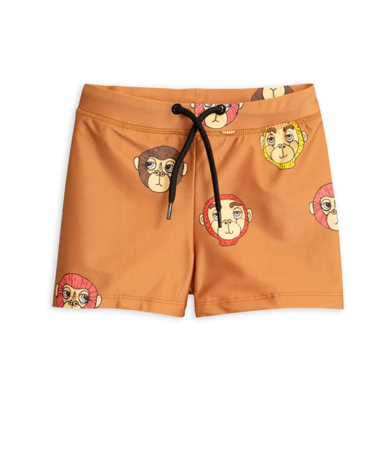Monkey Swimpants - Brown ★ONLY 92/98 (2-3Y)★