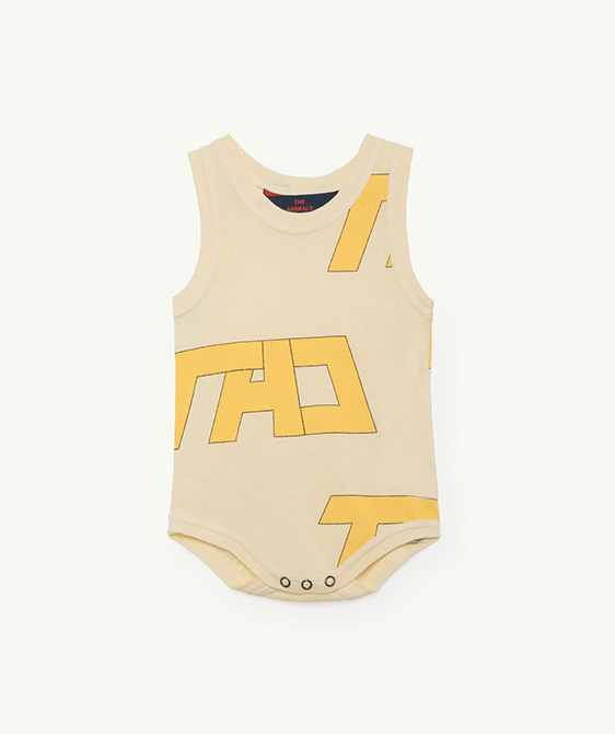 Turtle Babies Body - Yellow Tao