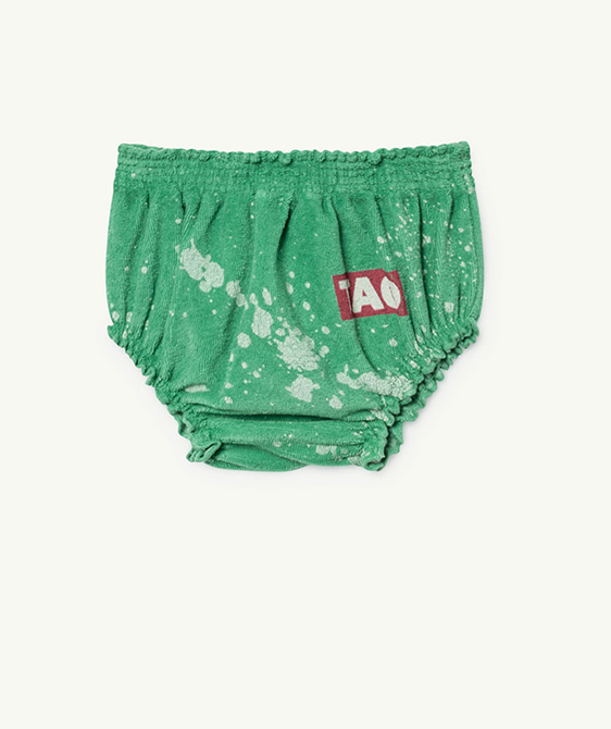 Toads Babies Culotte - Green Splashes