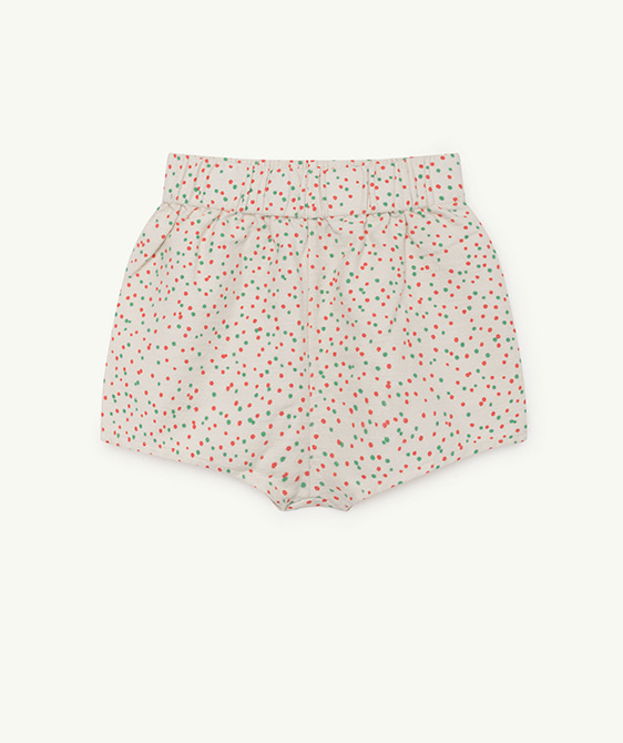 Clam Kids Shorts - White Dots