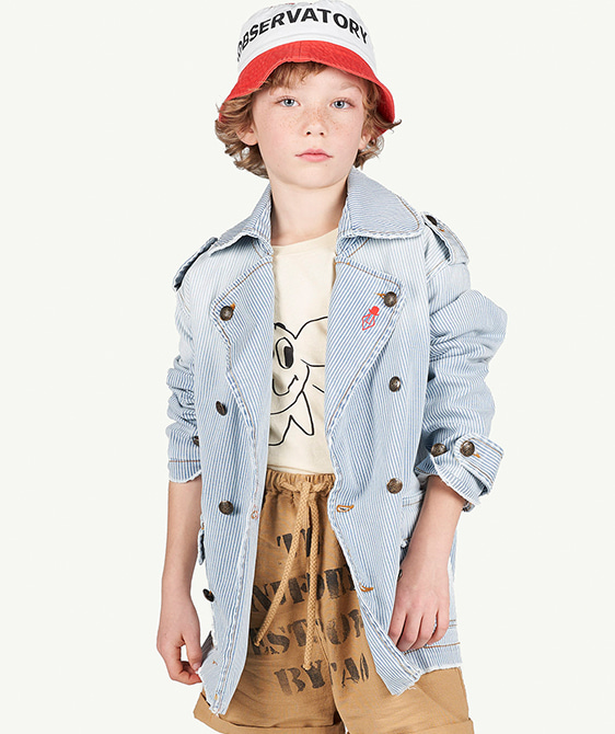 Stripes Lion Kids Jacket - 001269_114_QI