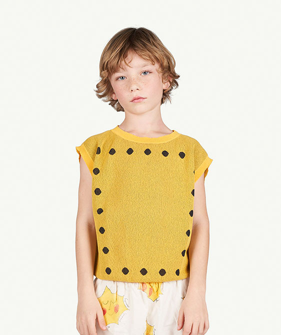 Geo Bat Kids Vest - 001216_099_XX ★ONLY 4Y★