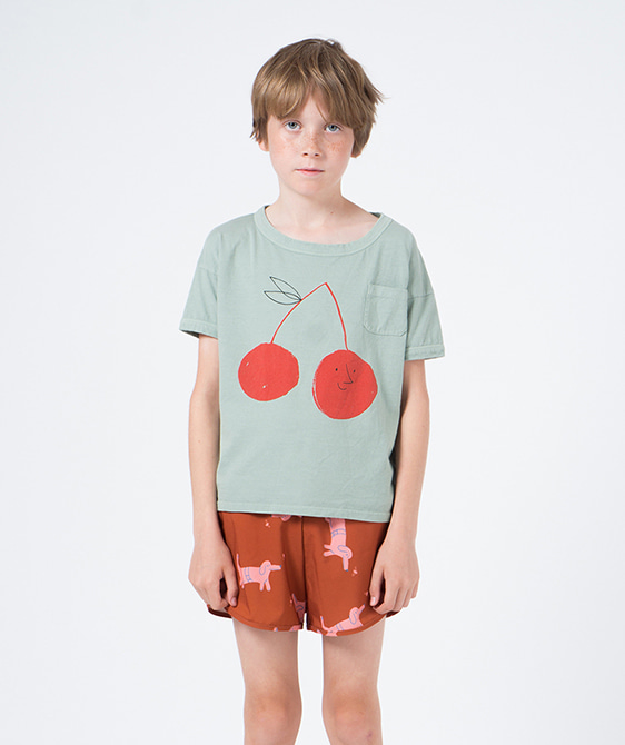 Cherry Short Sleeve T-Shirt #005