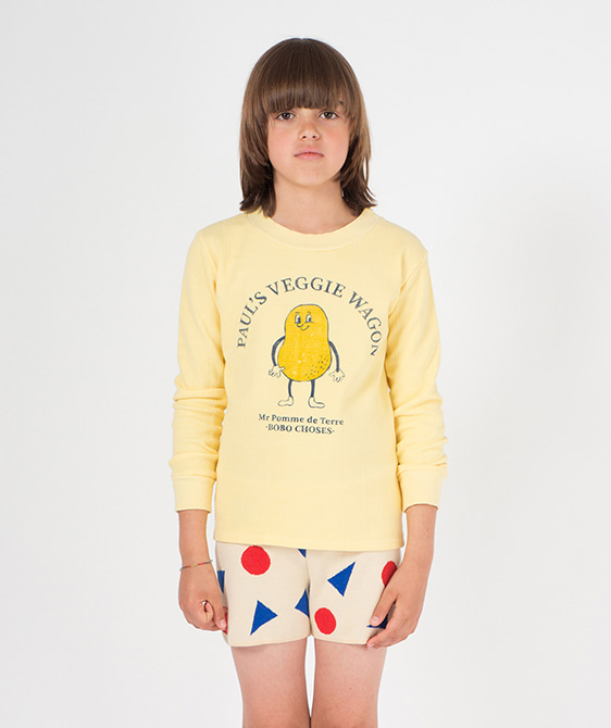 Pomme De Terre Long Sleeve T-Shirt #025