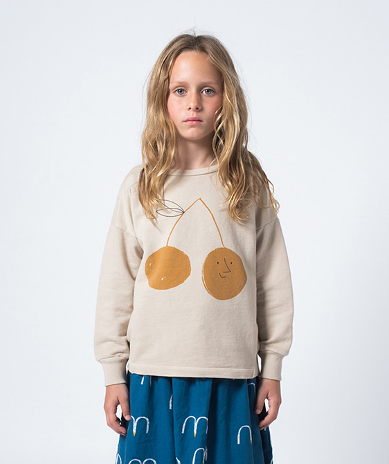 Cherry Round Neck Sweatshirt #031