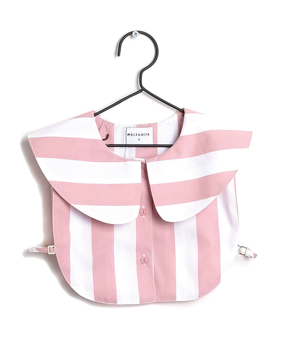 Marta Pink Stripes Mock Shirts