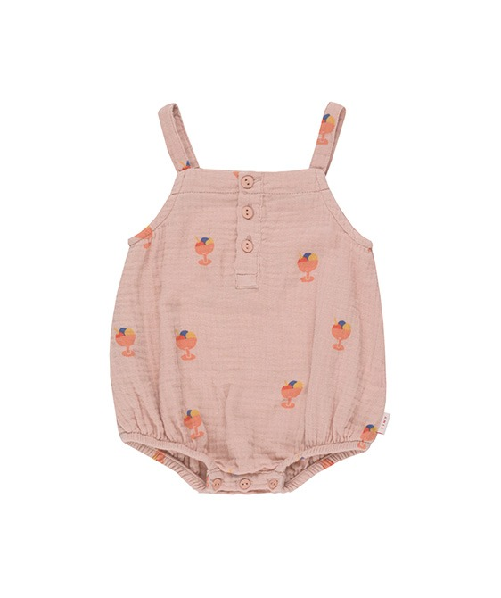 ◆4DROP◆ Ice Cream Cup Body - Dusty Pink/Light Papaya