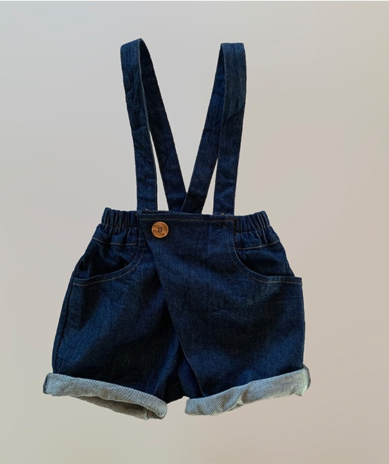Dalston Shorts - Blue Denim ★ONLY 4-5Y★
