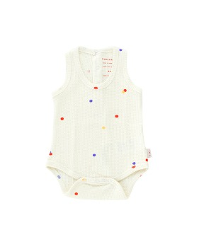 Ice Cream Dots Body - Off White ★ONLY 18M★