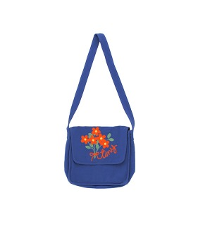 ◆2DROP◆ Tiny Flowers Bag - Indigo