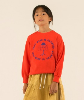 Wishing Table Sweatshirt - Red/Iris Blue ★ONLY 8Y★