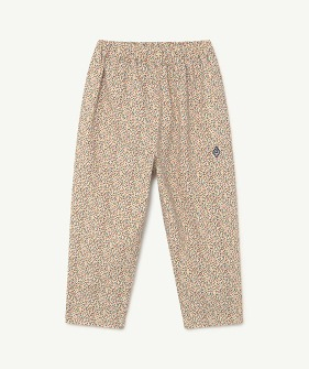 Elephant Kids Trousers - White Dots  (F21126)